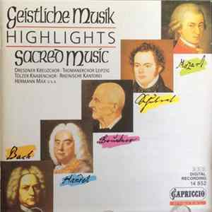 🎼 Various - Geistliche Musik Highlights Sacred Music Album
