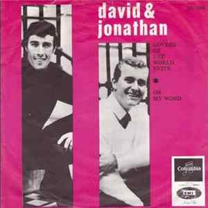 🎼 David And Jonathan - Lovers Of The World Unite Album