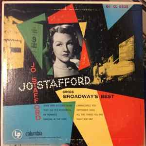🎼 Jo Stafford With Paul Weston And His Orchestra - Jo Stafford Sings Broadway's Best Album