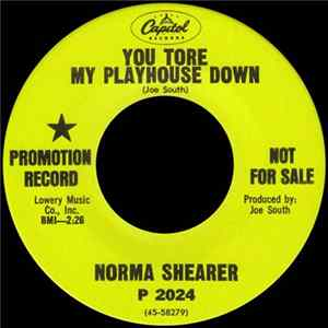 🎼 Norma Shearer - You Tore My Playhouse Down Album